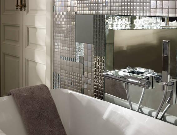 termostatico, pared y bañera